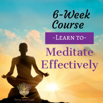 6 Week Course Learn To Meditate Effectively