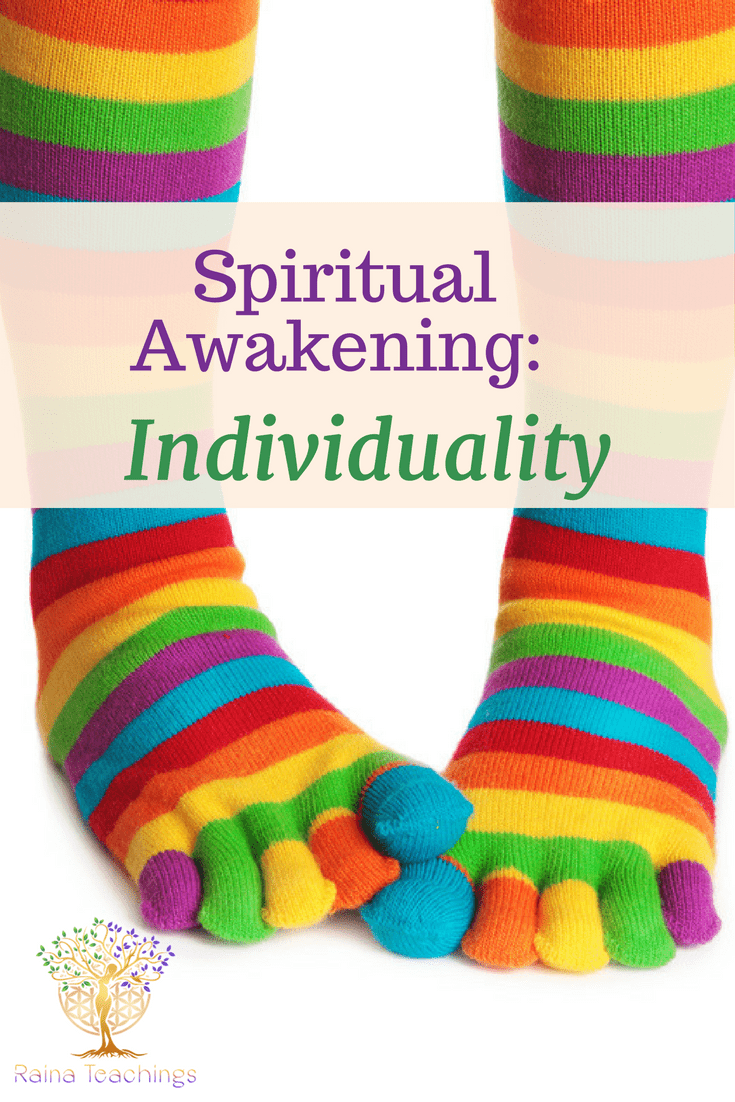 A blog post about Spiritual Awakening and Individuality | rainateachings #spiritual development #trance channeling