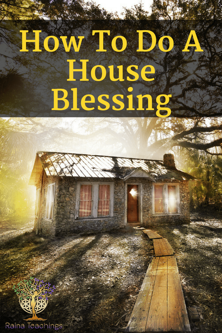 A blog post by Lori Camacho on how to do a house blessing/clearing #houseblessings #houseclearings #spiritualcleansing