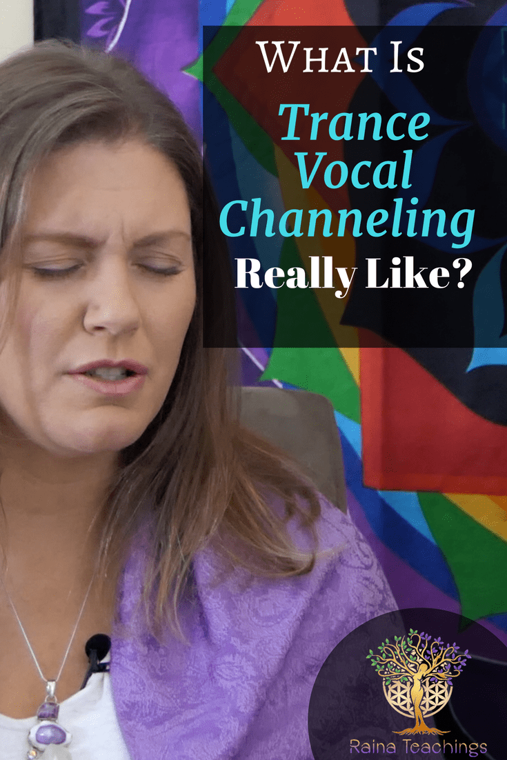 What is Vocal Trance Channeling Really Like?