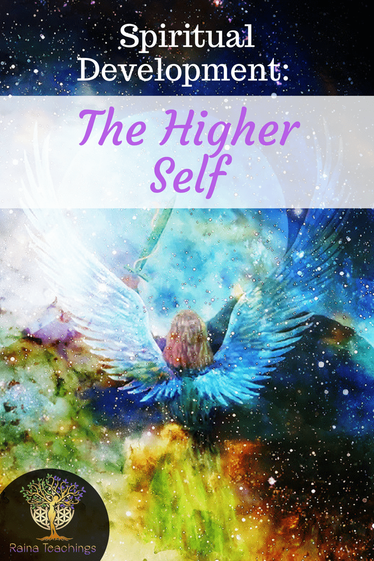 A channeled article by Raina about the higher self and their role in spiritual development | rainateachings #higherself #spiritualdevelopment #divinelove