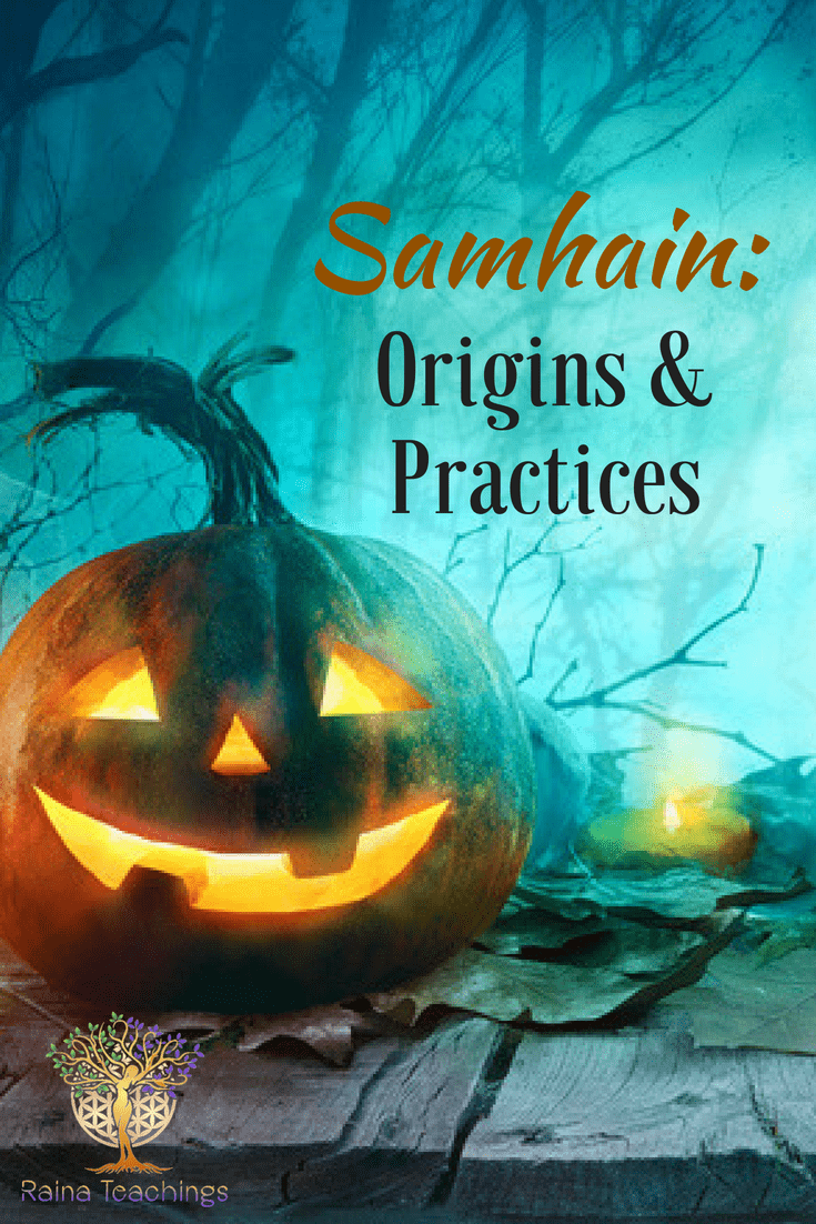 A little history on Samhain/Halloween and what it is really for. Are you naturally drawn to this magickal holiday? Find out why |rainateachings #samhain #halloween #witchyholiday #druidholiday