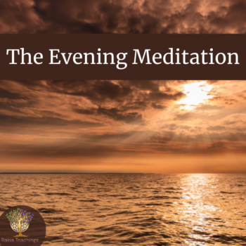 The Evening Meditation