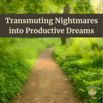 Transmuting Nightmares Into Productive Dreams